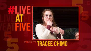 Broadway.com #LiveatFive with <I>Noises Off</I>'s Tracee Chimo