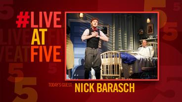 Broadway.com #LiveatFive with She Loves Me's Nicholas Barasch