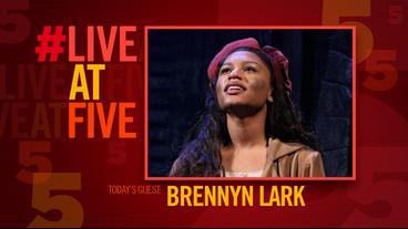 Broadway.com #LiveatFive with Les Miserables' Brennyn Lark