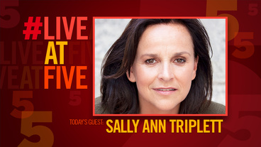 Broadway.com #LiveatFive with Finding Neverland's Sally Ann Triplett