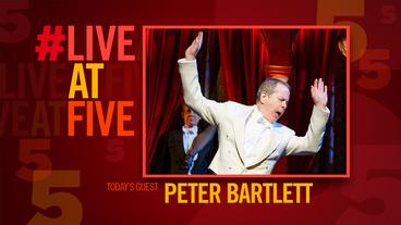 Broadway.com #LiveatFive with She Loves Me's Peter Bartlett
