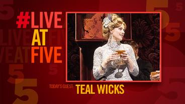 Broadway.com #LiveatFive with Finding Neverland's Teal Wicks