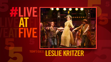 Broadway.com #LiveatFive with <i>The Robber Bridegroom</i>'s Leslie Kritzer