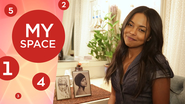 Shuffle Along Tony Nominee Adrienne Warren Shows Off Her Plants, Half-Hour Glass & More!