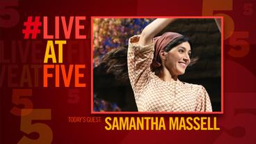Broadway.com #LiveatFive with Fiddler's Samantha Massell