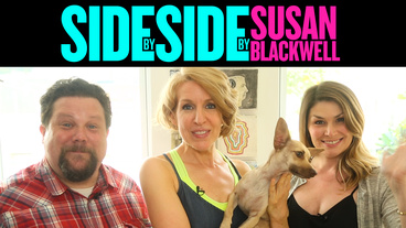 Broadway Besties! Something Rotten! Standout Heidi Blickenstaff Heads to Susan Blackwell's Place for Puppies & Pics