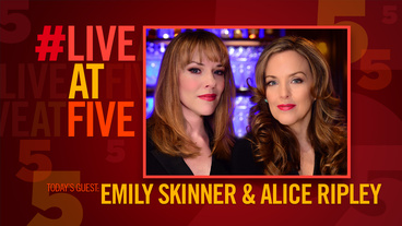 Broadway.com #LiveatFive with Alice Ripley and Emily Skinner of <i>Unattached</i>