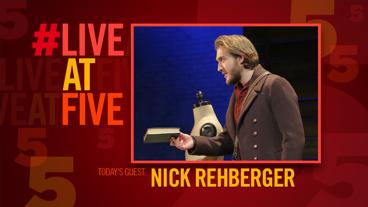 Broadway.com #LiveatFive with Nick Rehberger of Fiddler on the Roof
