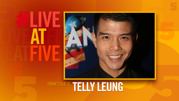 Broadway.com #LiveatFive with Telly Leung of <i>In Transit</i>