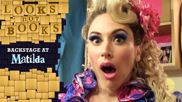 Looks Not Books: Backstage at Matilda with Lesli Margherita: The Queen Is Back!
