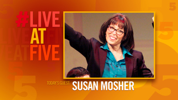 Broadway.com #LiveatFive with Susan Mosher of NEWSical the Musical