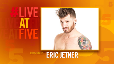 Broadway.com #LiveatFive with Eric Jetner of Naked Boys Singing!
