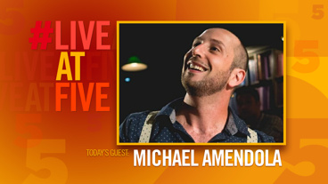Broadway.com #LiveatFive with Michael Amendola of <i>Drunk Shakespeare</i>