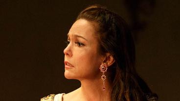 DIane Lane as Lyubov Ranevskaya in The Cherry Orchard.