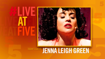 Broadway.com #LiveatFive with Jenna Leigh Green of <i>The Marvelous Wonderettes</i>
