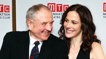 We can't get enough of these two! See Denis Arndt and Mary-Louise Parker in Heisenberg through December 11!