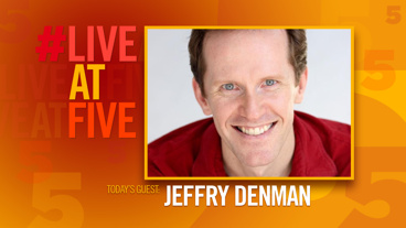 Broadway.com #LiveatFive with Jeffry Denman of <i>Cagney</i>