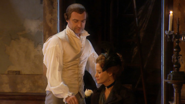 Even the Chandeliers Are Sexy! Watch Liev Schreiber & Janet McTeer in Les Liaisons Dangereuses