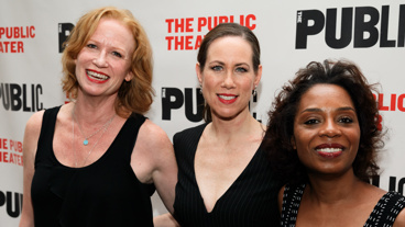 Sweat stars Johanna Day, Miriam Shor and Michelle Wilson.