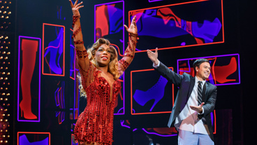 Bravo! Kinky Boots stars Todrick Hall and Aaron C. Finley take a bow.