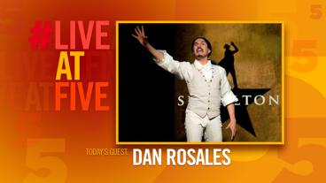 Broadway.com #LiveatFive with Dan Rosales of <i>Spamilton</i>