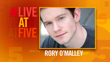 Broadway.com #LiveatFive with Rory O'Malley of <i>Hamilton</i>