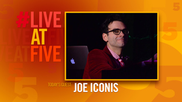 Broadway.com #LiveatFive with Joe Iconis