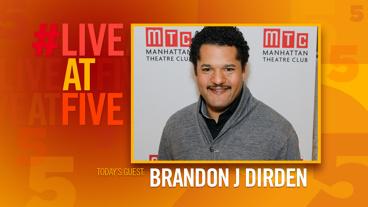 Broadway.com #LiveatFive with Brandon J. Dirden of Jitney
