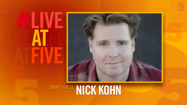 Broadway.com #LiveatFive with Nick Kohn of Avenue Q