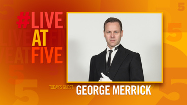 Broadway.com #LiveatFive with George Merrick of <i>Ring Twice For Miranda</i>