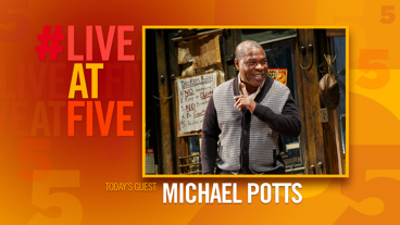 Broadway.com #LiveatFive with Michael Potts of <i>Jitney</i>