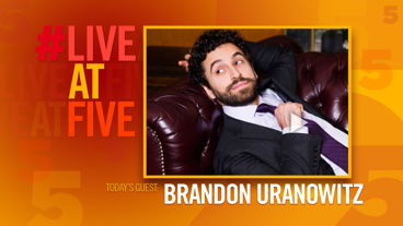 Broadway.com #LiveatFive with Brandon Uranowitz