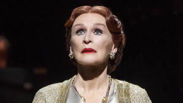 Glenn Close as Norma Desmond in Sunset Boulevard.