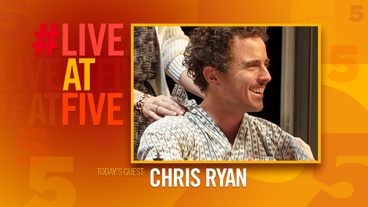 Broadway.com #LiveatFive with Chris Ryan of <i>The Present</i>