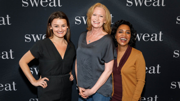 Sweat stars Alison Wright, Johanna Day and Michelle Wilson get together.
