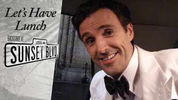 Let's Have Lunch: Backstage at Sunset Boulevard with Michael Xavier, Episode 6: Snowpening Night!