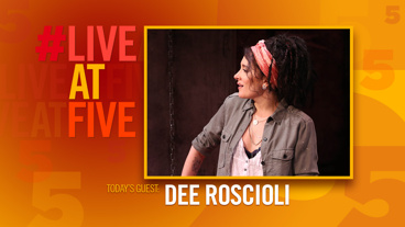 Broadway.com #LiveatFive with Dee Roscioli of Kid Victory