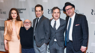The gang's all here! The Price's Jessica Hecht, Danny DeVito, Tony Shalhoub, Mark Ruffalo and director Terry Kinney hit the red carpet.