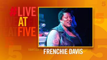 Broadway.com #LiveatFive with Frenchie Davis of <i>The View UpStairs</i>