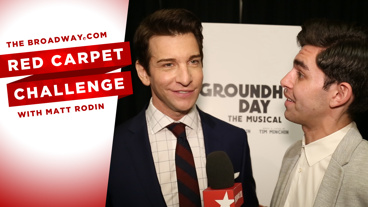 Watch This Over And Over And Over Again: The Most Repetitive Red Carpet Challenge Ever On Opening Night of Groundhog Day