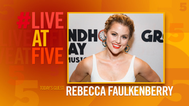 Broadway.com #LiveatFive with Rebecca Faulkenberry of Groundhog Day