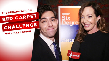 Get Classy with the Cast of Six Degrees of Separation in the Newest Red Carpet Challenge from Opening Night