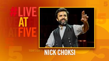 Broadway.com #LiveatFive with Nick Choksi of The Great Comet