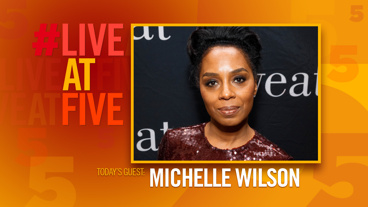 Broadway.com #LiveatFive with Michelle Wilson of <i>Sweat</i>