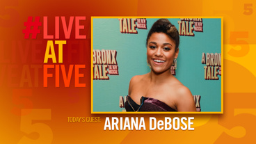 Broadway.com #LiveatFive with Ariana DeBose of A Bronx Tale