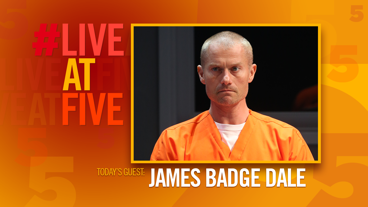 Broadway.com #LiveatFive with James Badge Dale of <i>Building the Wall</i>