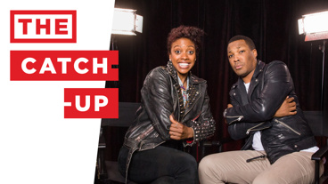 The Catch-Up! Childhood Chums Condola Rashad of A Doll's House, Part 2 and Corey Hawkins of Six Degrees