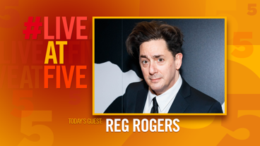 Broadway.com #LiveatFive with Reg Rogers of <i>Present Laughter</i>