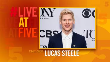 Broadway.com #LiveatFive with Lucas Steele of Natasha, Pierre & the Great Comet of 1812