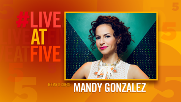 Broadway.com #LiveatFive with Mandy Gonzalez of Hamilton